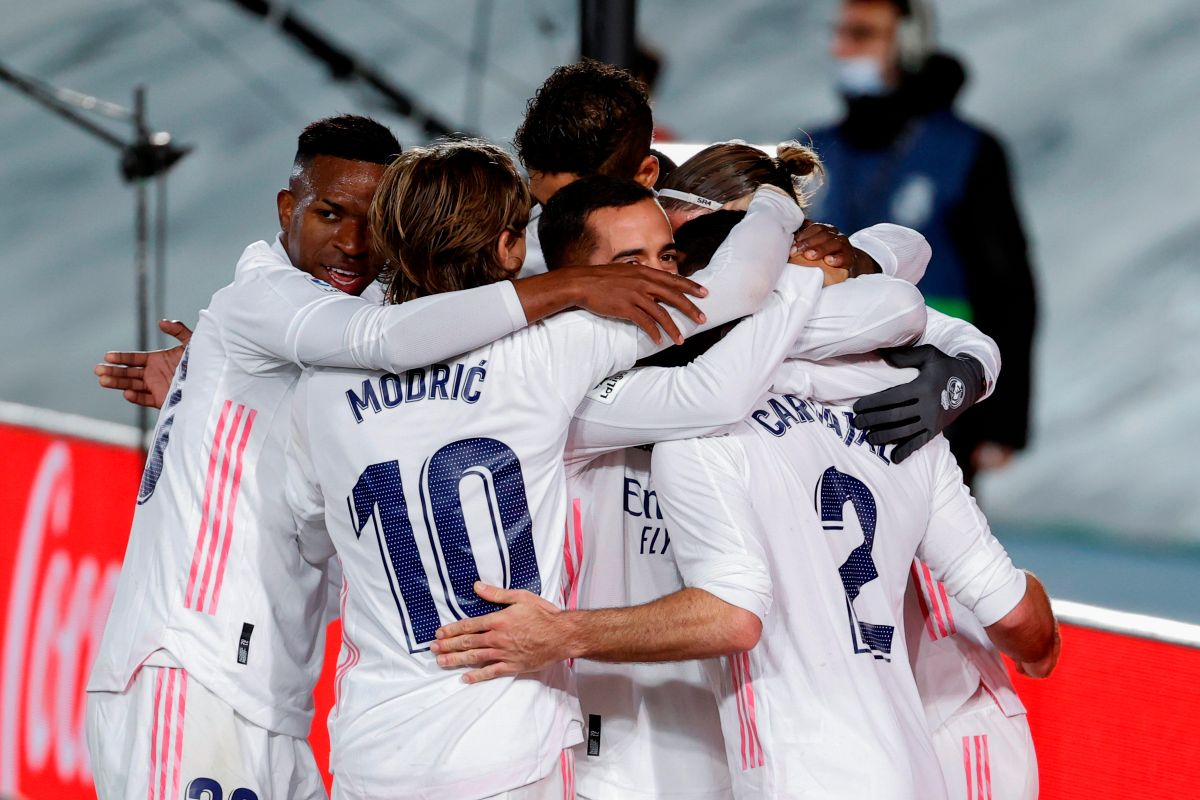 "Real Madrid won the derby and for the first time in eight years they scored twice against ""Atleti"" 