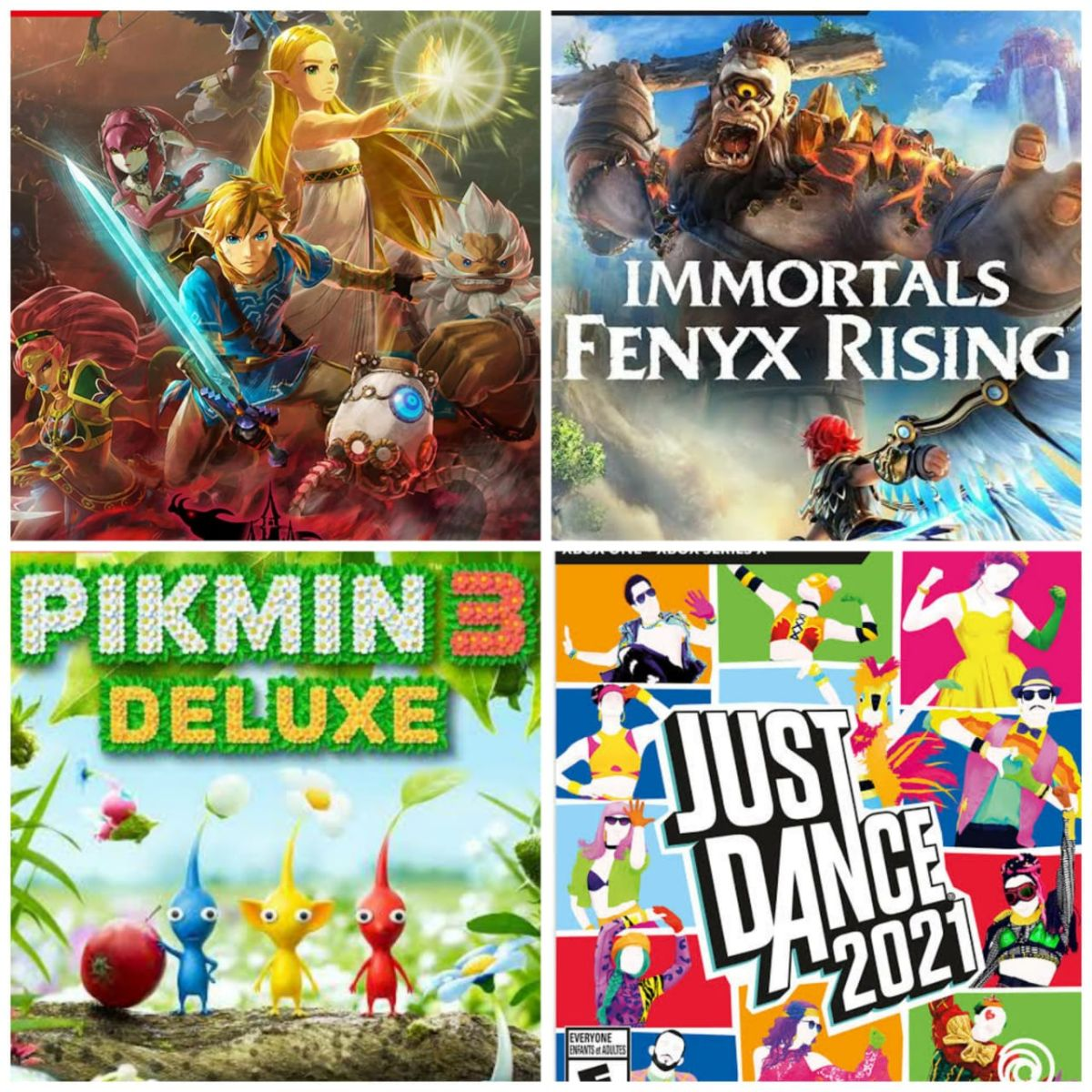 Review: Immortals: Fenyx Rising, Pikmin 3 Deluxe Edition, Zelda Hyrule Warriors Age of Calamity and Just Dance 2021 | The State