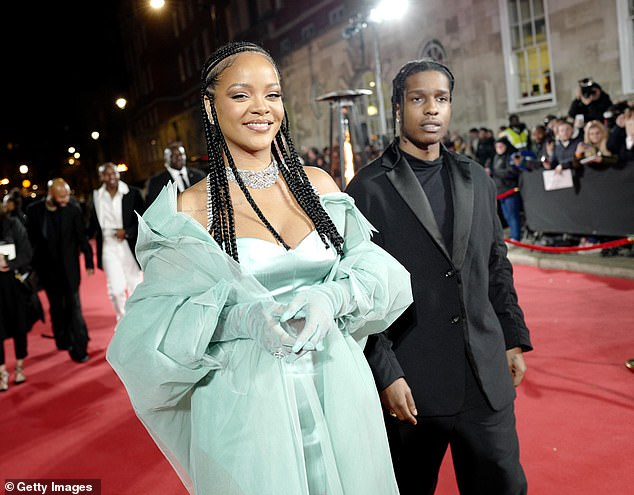 Rihanna and A$AP Rocky are confirmed to be dating … after stars seen on intimate dinner in NYC