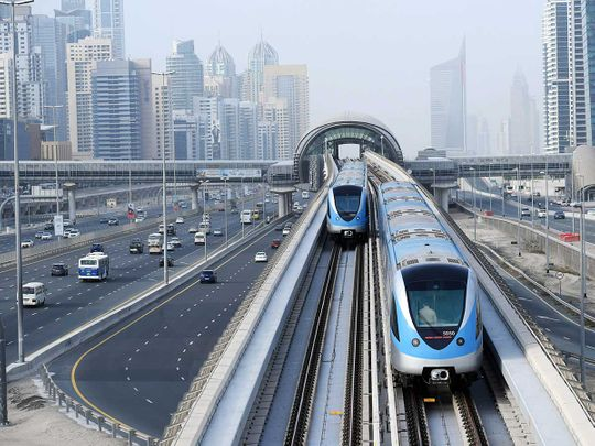 Roads and Transport Authority to update Dubai Metro platforms addressing system