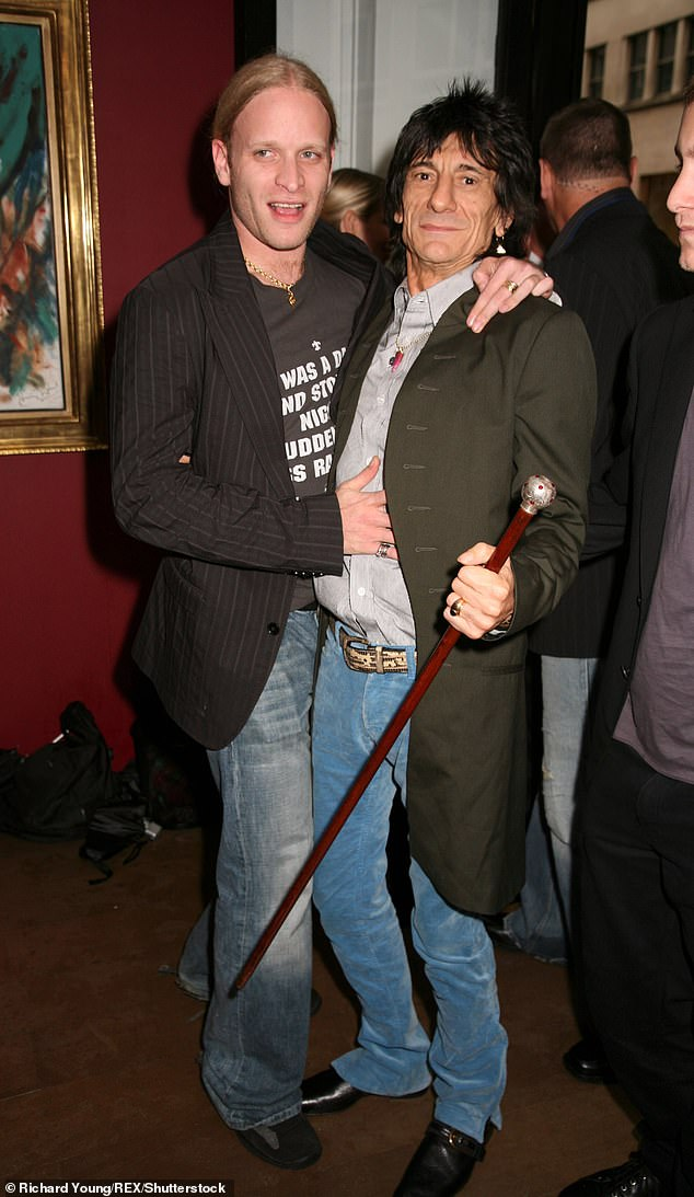Ronnie Wood's son Jamie dismisses 'feud' with rocker… and admits distancing from Rolling Stones