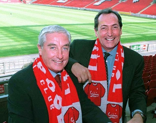 Houllier was brought in alongside Evans as joint manager at Liverpool in 1998