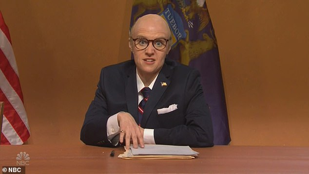 SNL lampoons a VERY gassy Rudy Giuliani's election fraud lawsuit with Melissa Carone