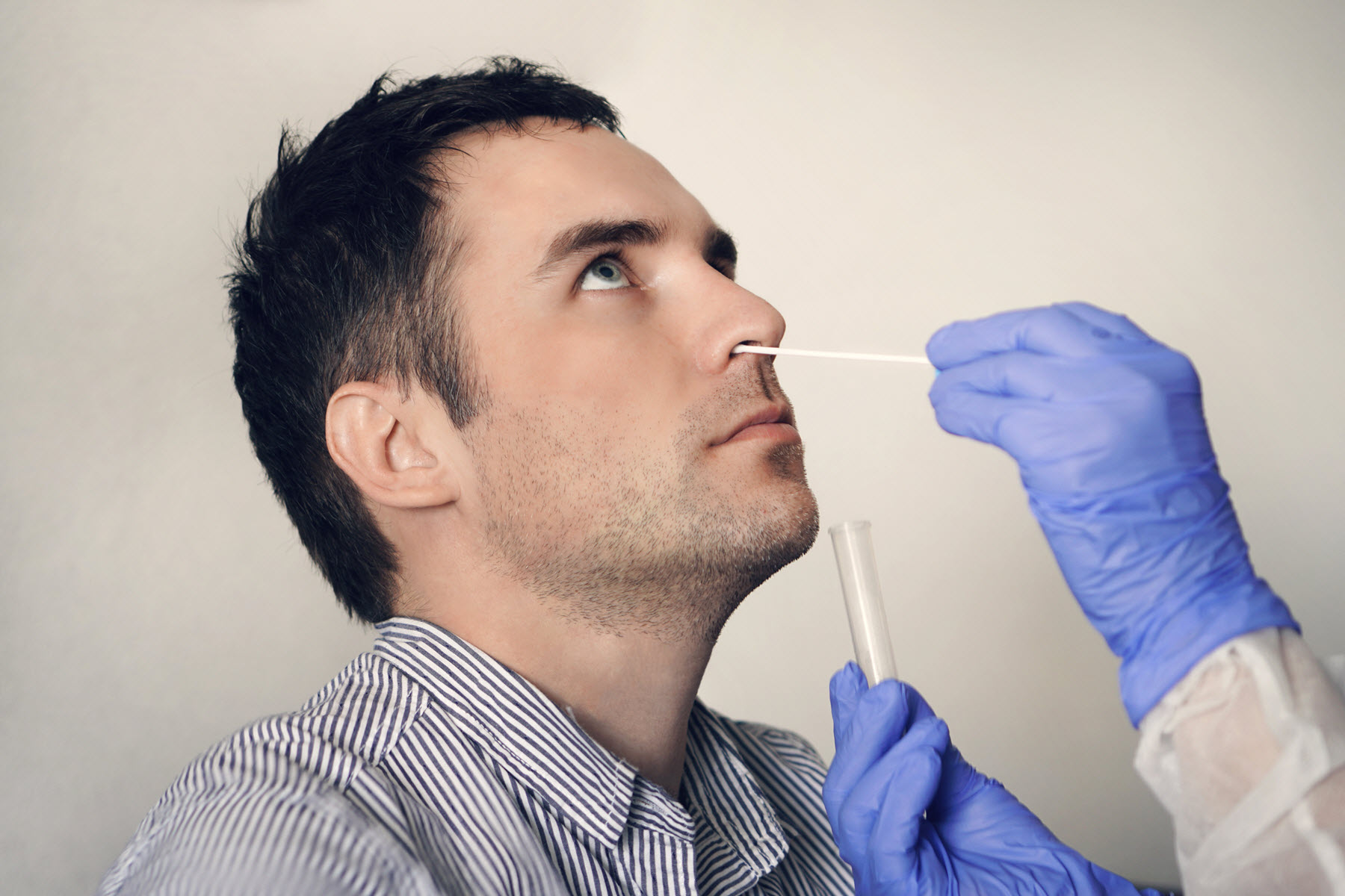 Saliva Equals Nasal Swab for COVID Test Accuracy