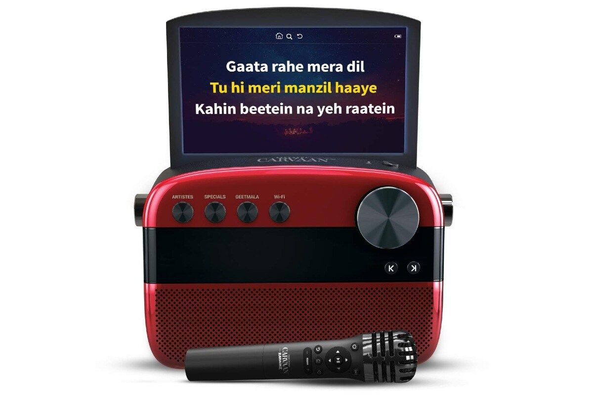 Saregama Carvaan Karaoke With Inbuilt Screen Launched in India