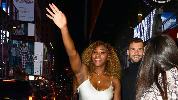 Serena Williams Stuns In Sparkly Mini Dress While Holding Daughter Olympia, 3, In New Family Pics