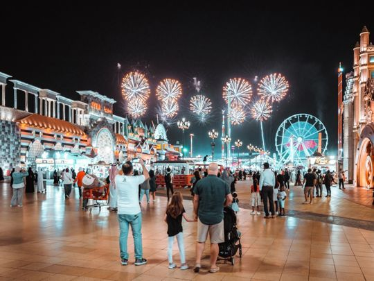 Seven fireworks displays to light up skies at Global Village in Dubai this New year's Eve