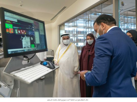Sharjah Ruler opens unique futuristic library – House of Wisdom
