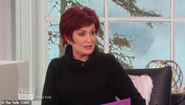 Sharon Osbourne reveals she's tested positive for coronavirus and was briefly hospitalized