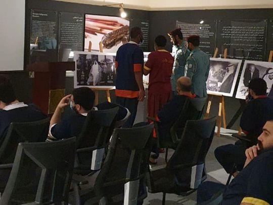 Sheikh Zayed's rare photos on display for Sharjah jail inmates