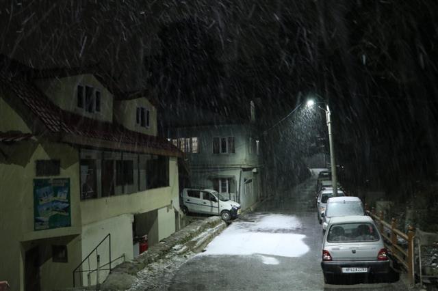 Shimla gets fresh snowfall; tourists, hoteliers rejoice