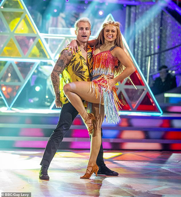 Some normality! Strictly Come Dancing's live audience is reportedly set to make a return to the show after the UK's lockdown ends on Wednesday (Maisie Smith and Gorka Marquez pictured)