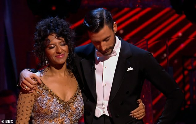 Strictly: Ranvir Singh misses out on the final as she and Giovanni Pernice are voted off