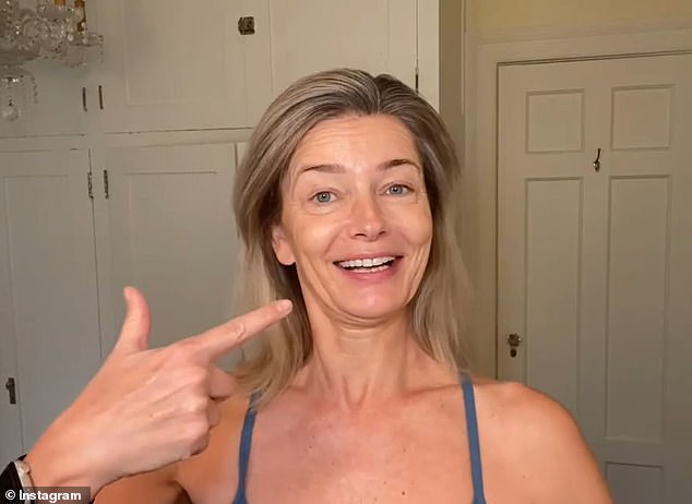 Supermodel Paulina Porizkova, 55, reveals her skincare routine