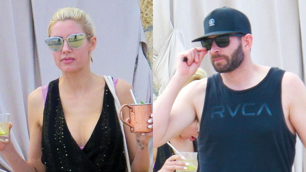 Tarek El Moussa & Fiancé Heather Rae Young Are All Smiles As They Hit Beach During Romantic Cabo Getaway
