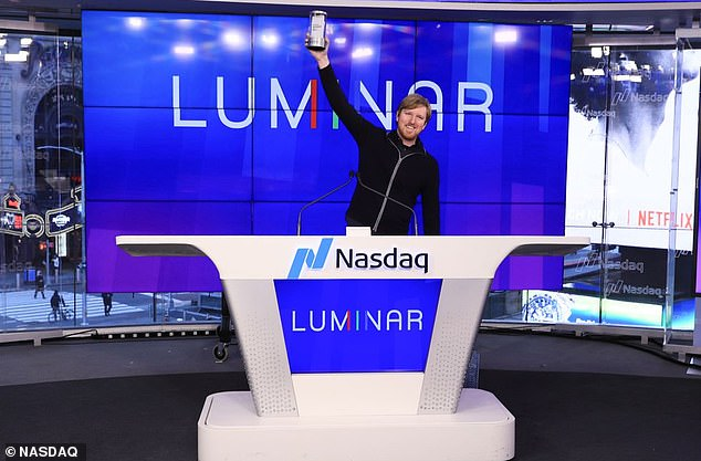 Tech wiz, 25, who founded his laser-sensor company at age 17 becomes a billionaire overnight