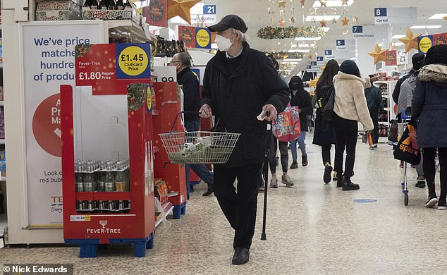 Tesco tells shoppers they can only make three purchases of eggs, rice, soap and toilet roll