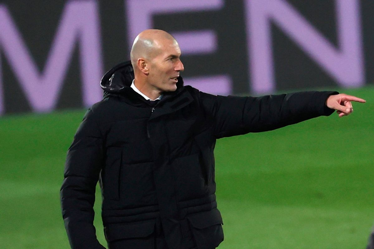 The controversial Christmas photo for which Zinedine Zidane has been severely criticized | The State