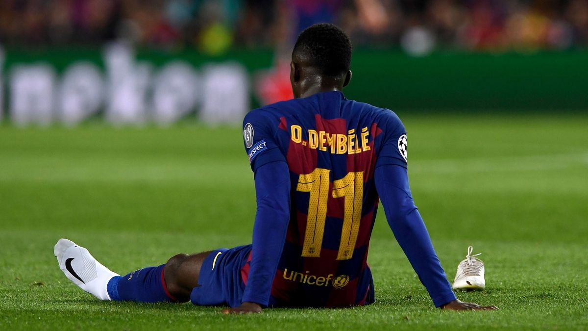 The problems in Barcelona do not stop: Dembélé, injured | The State