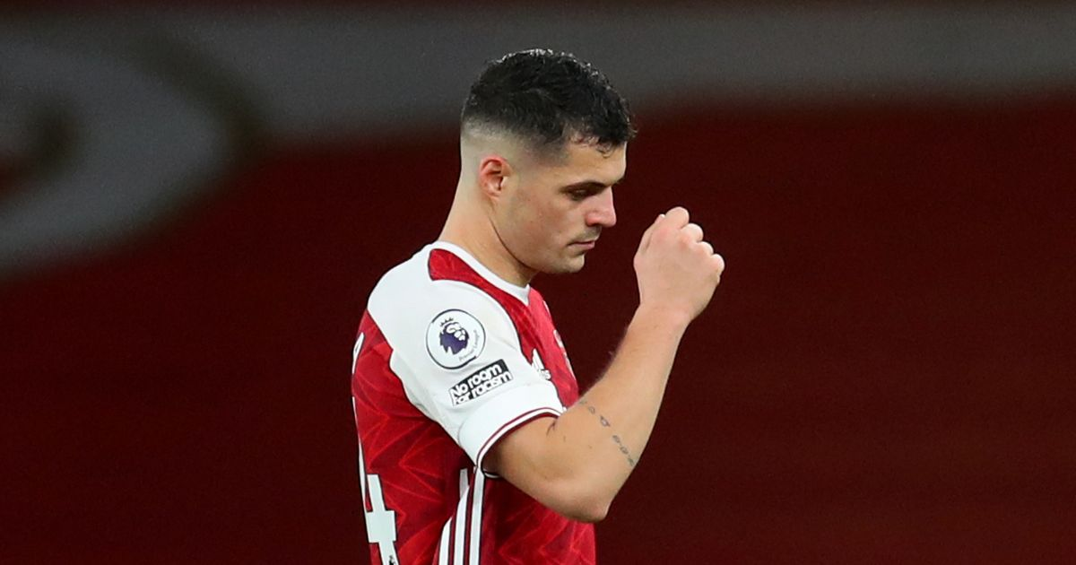 Thierry Henry's damning view on Xhaka laid bare after Arsenal star's red card