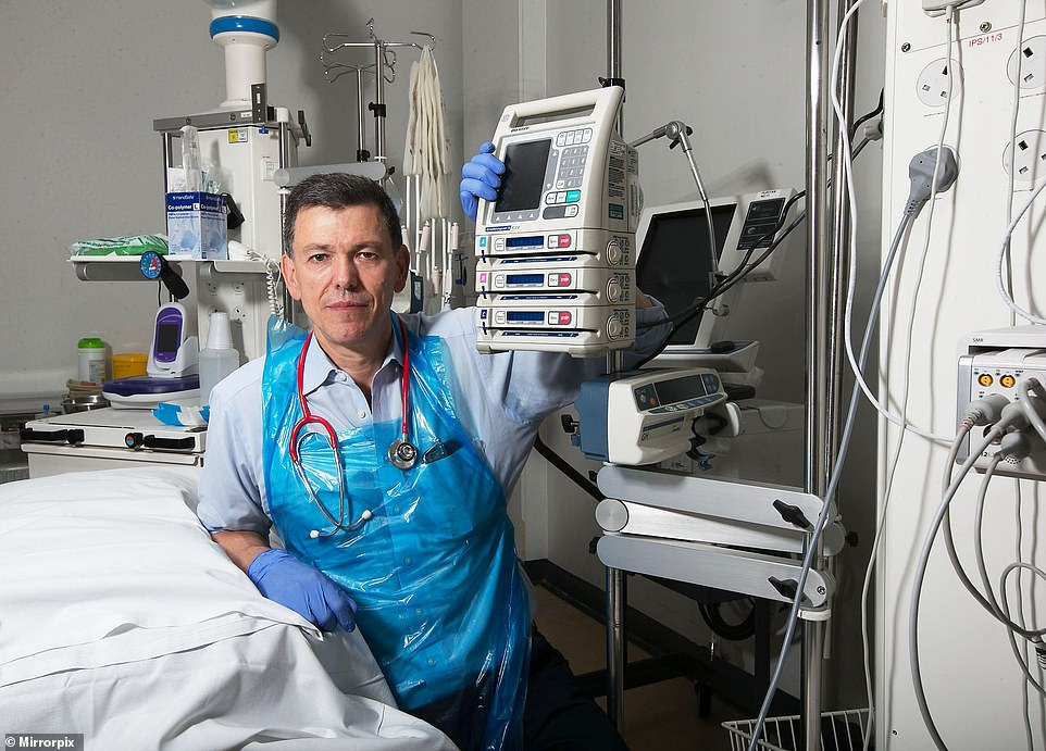 'This is PEOPLE behaving badly': ICU doctor angry with public for Covid hospitals crisis