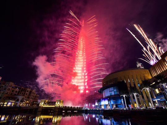 This is how you can watch Burj Khalifa fireworks live on New Year's Eve in Dubai