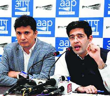 Those calling protesting farmers anti-nationals should go to Pak: AAP's Raghav Chadha