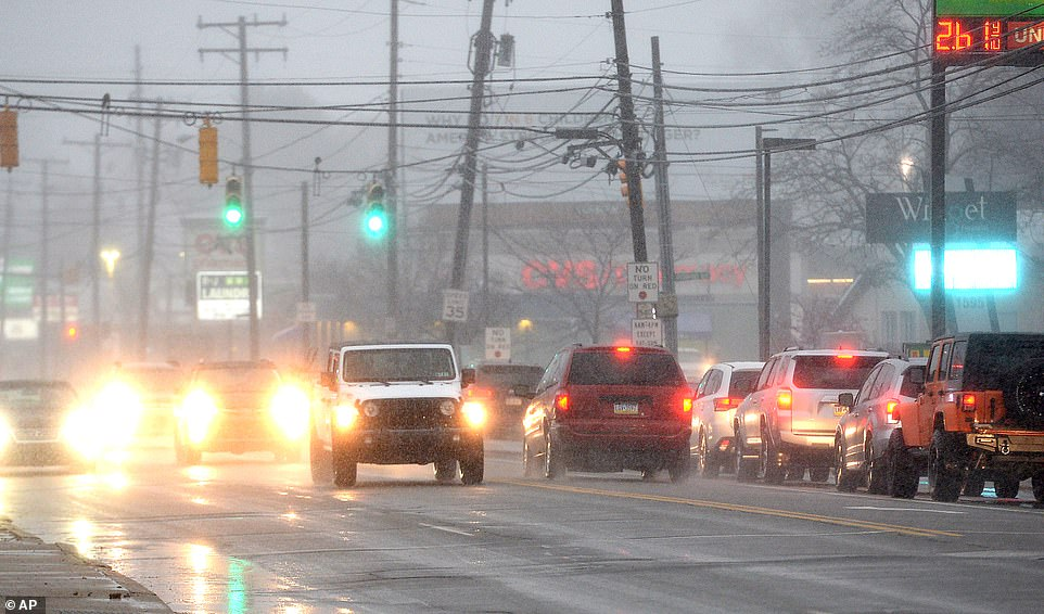 Three people are killed including four-year-old as Winter Storm Harold batters the East Coast