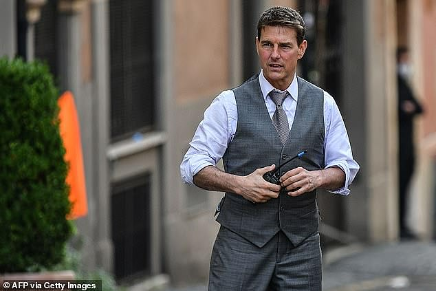 Tom Cruise 'builds Covid-secure studio to finish filming Mission: Impossible 7'