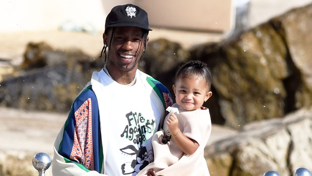Travis Scott Gifts 'Princess Stormi' A Cinderella Carriage Filled With Dresses On XMas: See Pics & Video