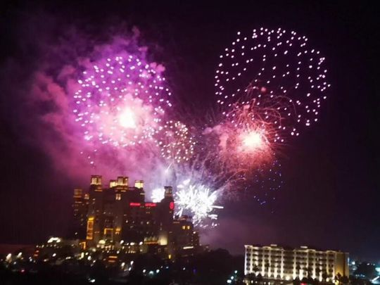 Two massive firework displays to ring in New Year in Ajman