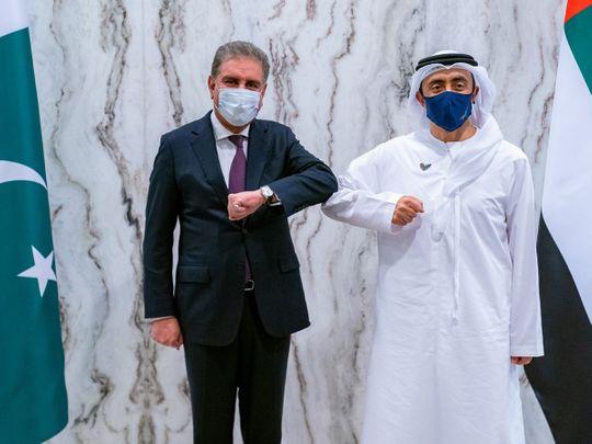 UAE: Abdullah bin Zayed meets Pakistan foreign minister Shah Mahmood Qureshi