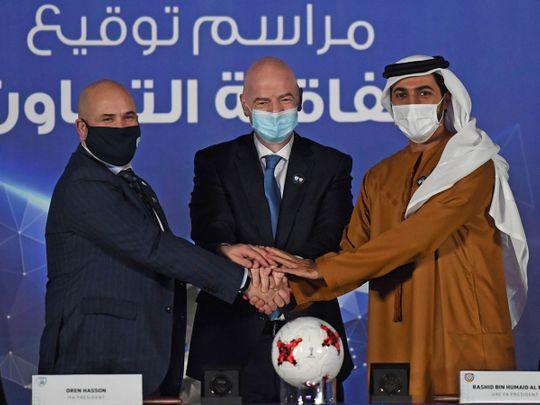 UAE, Israel football associations sign historic agreement