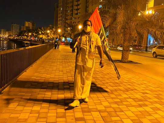 UAE National Day: Residents carry UAE flags, make eco-friendly patriotic emblems