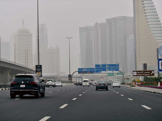 UAE: Strong winds, dusty weather and partly cloudy skies, humidity to hit 85 per cent