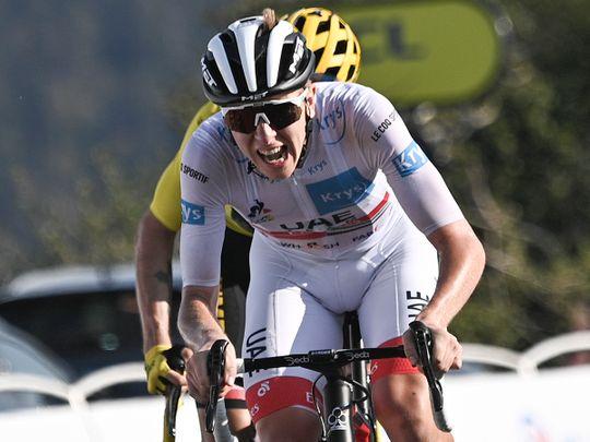 UAE Team Emirates' Tadej Pogacar admits cycling has to live with doping scar