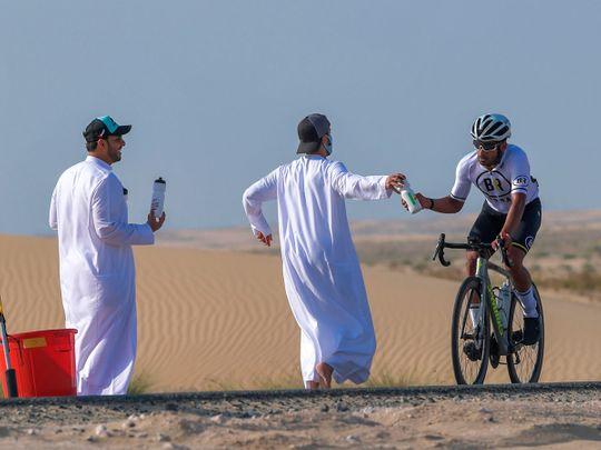 UAE: Thrills and spills at Dubai's 5th Al Salam Cycling Championship