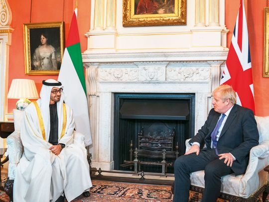 UAE, UK affirm commitment to boost ties