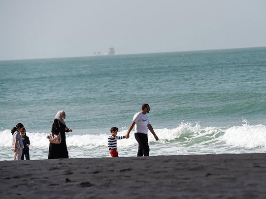 UAE Weather: Windy, cloudy, and rough seas