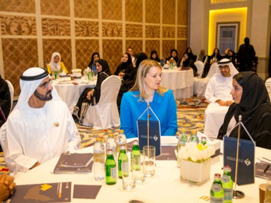 UAE aims to be among top 25 countries in gender balance by 2021