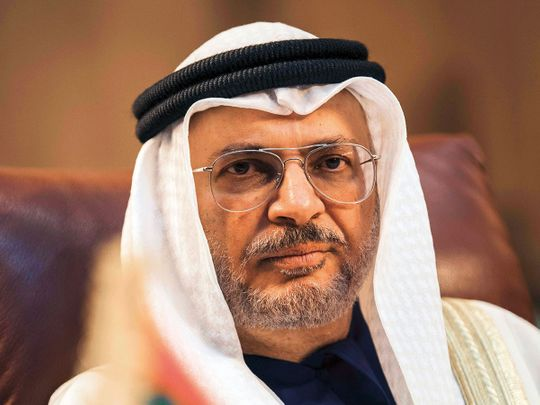 UAE draft law on human rights being framed, Gargash says