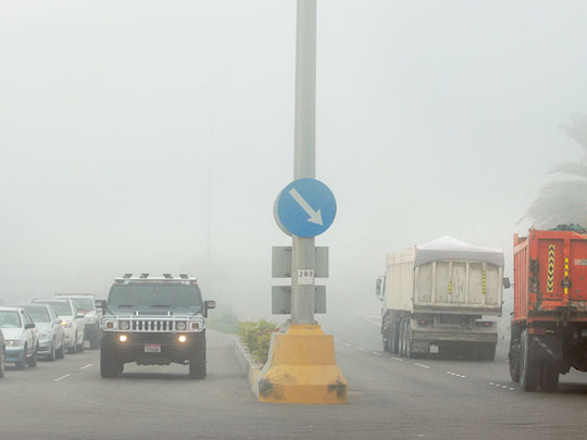 UAE weather: NCM issues alert due to foggy conditions in parts of Abu Dhabi, mist to form again on Friday