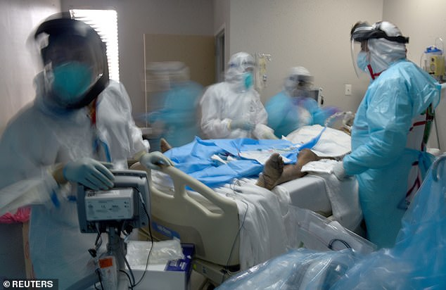 US hits record COVID deaths of 3,903 and more than 125,000 hospitalizations