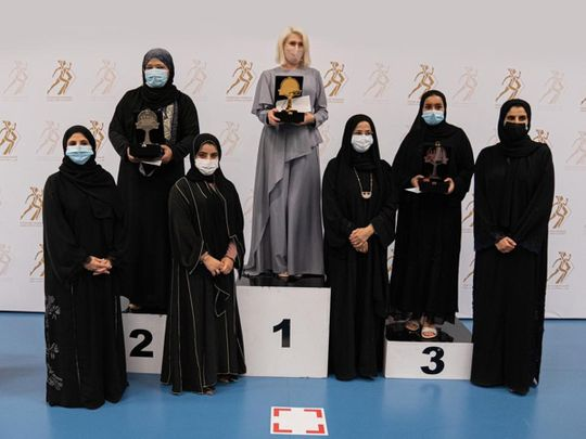 Ukraine's Suleimanova triumphs in Sheikha Fatima Blitz Chess Tournament