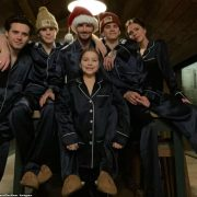 Victoria and David Beckham lead the stars sharing an insight into their Christmas