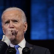Viewers worry about Biden's coughing during post-Electoral Vote speech