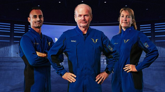 Virgin Galactic reveals uniforms its pilots will be wearing when they fly the first paying tourists