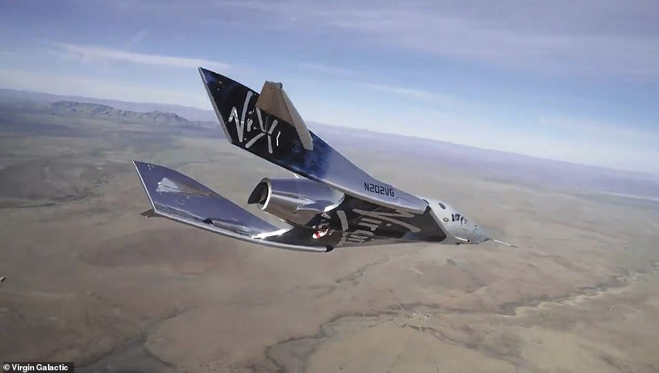 Virgin Galactic's long-delayed test flight to space is aborted midway after engine malfunctions