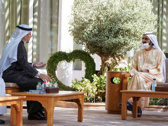 Watch: Sheikh Mohammed bin Rashid receives letter to President from Emir of Kuwait