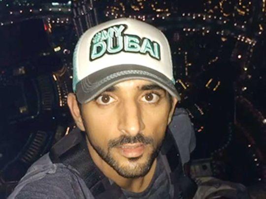 Watch: Video of Sheikh Hamdan's climb to top of Burj Khalifa goes viral